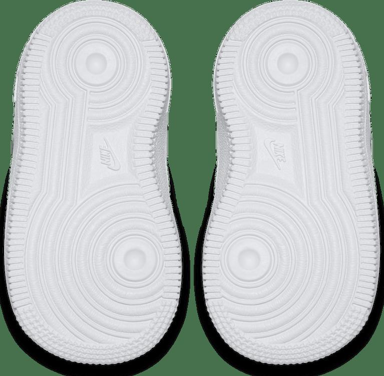 Force 1 Mid Toddler White/White-White