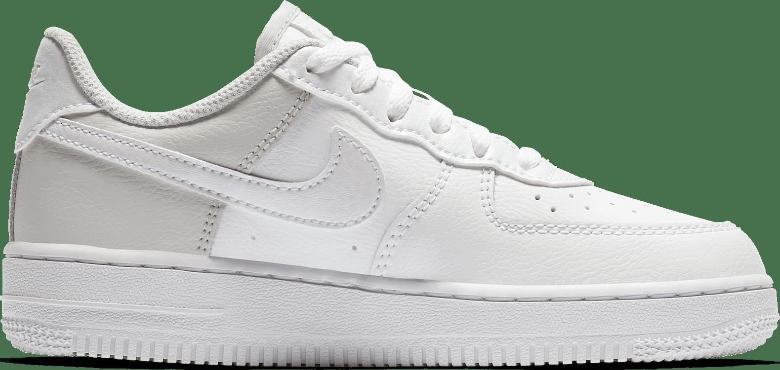 Girls Air Force 1 (Ps) White/White-Vast Grey