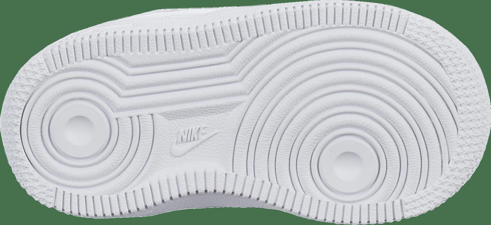 Girls' Air Force 1 (Td) White/White-Vast Grey