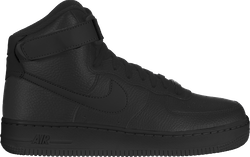 Womens Air Force 1 High Black/Black-Black