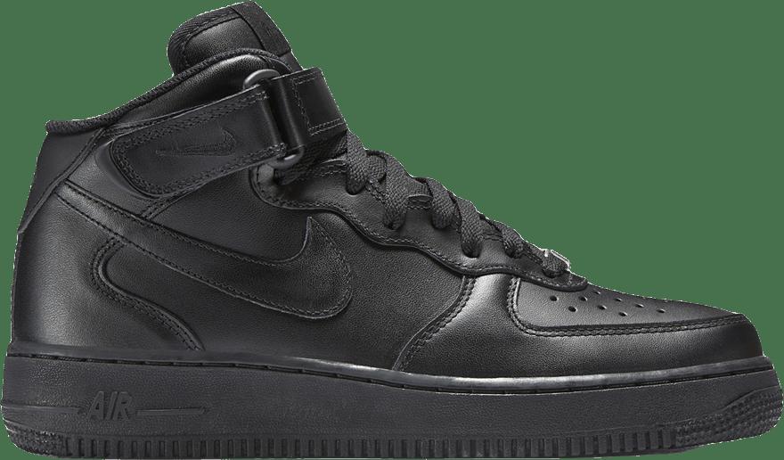 Wmns Air Force 1 '07 Mid Black/Black
