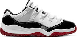 Air Jordan Xi Retro Low (Ps) White/University Red-Black-True Red