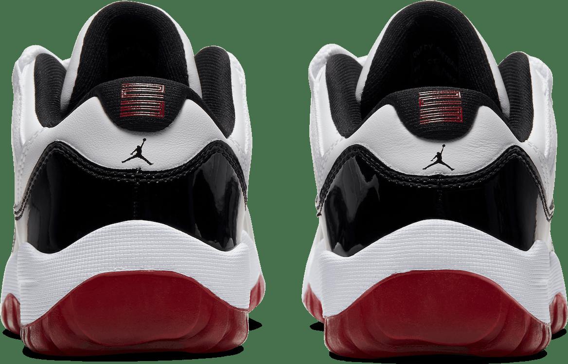 Air Jordan Xi Retro Low (Ps) White/University Red-Black-True Red
