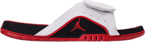 Jordan Hydro Iv Retro White/Fire Red-Black-Fire Red