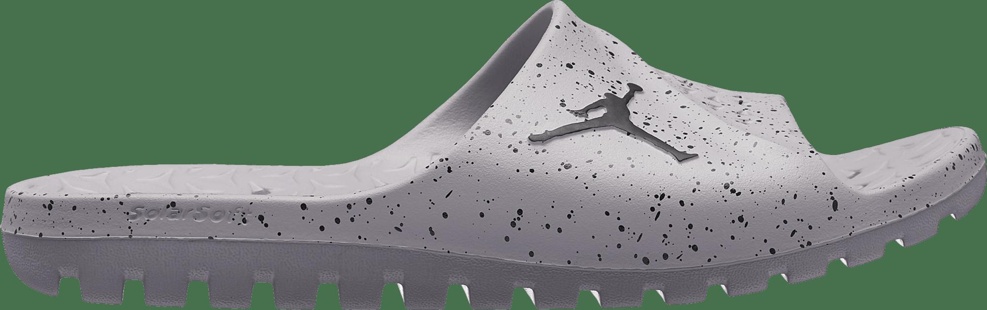Super.Fly Team Slide Cement Grey/Black-Black