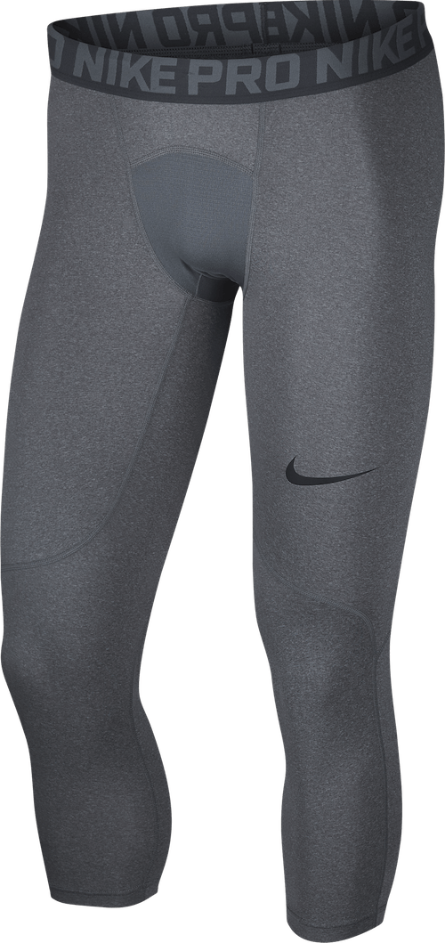 Pro Tights Carbon Heather/Dark Grey/Black