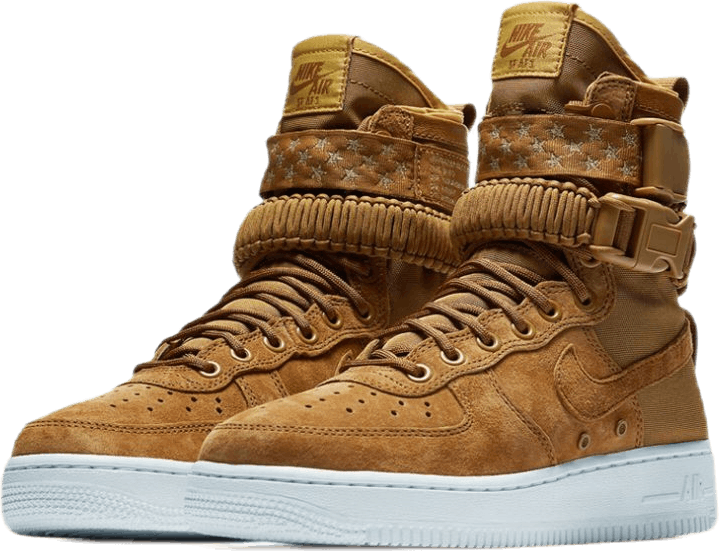 Wmns Sf Af1 Muted Bronze/Muted Bronze-White