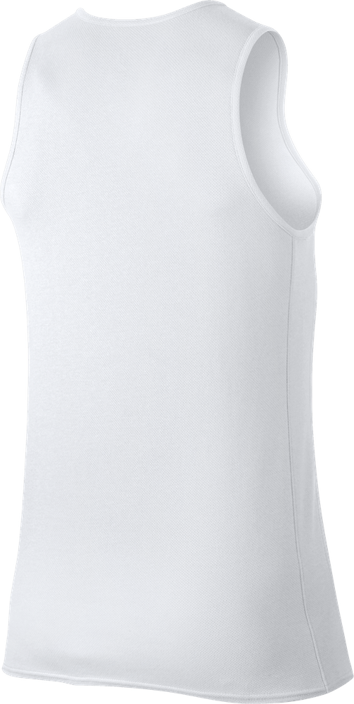 Rise Dri-Fit Tank White/Black