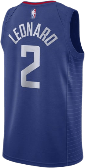 Clippers Leonard Icon Swingman Rush Blue/White/Leonard Kawhi
