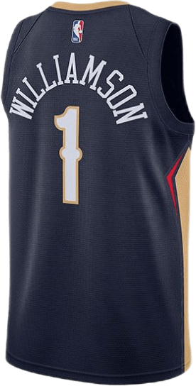 Pelicans Williamson Icon Swingman College Navy/Club Gold/Williamson Zion