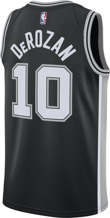 Spurs Icon Edition Derozan Black/Flt Silver/Derozan Demar
