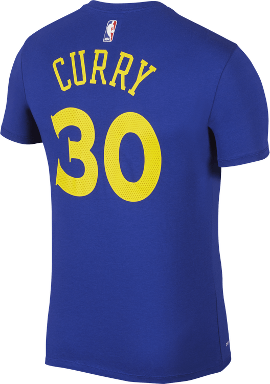 Warriors Dry Tee Curry Rush Blue