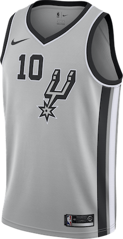 Spurs Statement Edition Derozan Flt Silver/Black/White/Derozan Demar