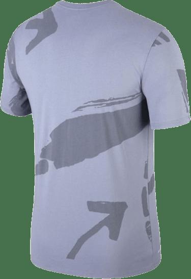 Kd Dry Tee Aop Ashen Slate/Ashen Slate