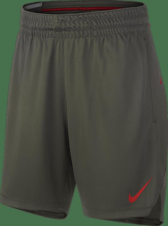 Women Elite Shorts Cargo Khaki/Cargo Khaki/University Red