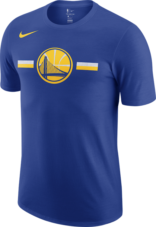 Warriors Dry Tee Logo Rush Blue