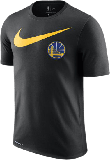Warriors Dry Tee Black