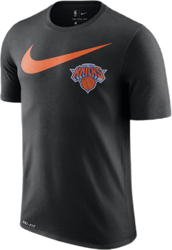 Knicks Dry Tee Swsh Black