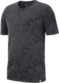 Warriors Tee Aop Anthracite