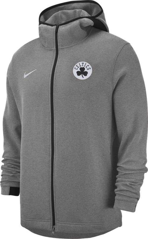 Celtics Hoodie Showtime Black Heather/Black/White