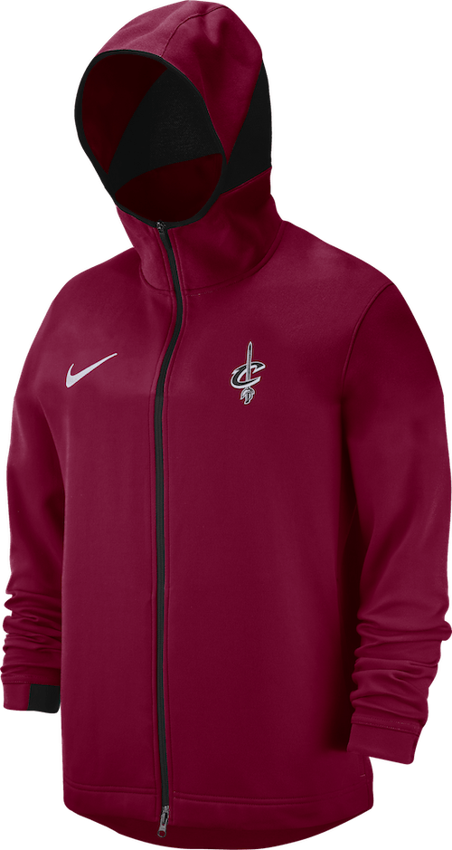 Cavs Dry Hoodie Shwtm Fz Team Red/Black/White