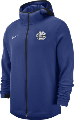 Warriors Dry Showtime Hoodie Rush Blue/Black/White