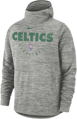 Celtics Spotlght Hoodie Carbon Heather/Fir/Black
