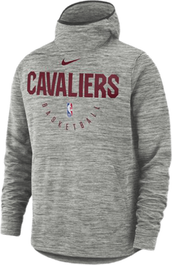Cavs Spotlight Hoodie Carbon Heather/Team Red/Black