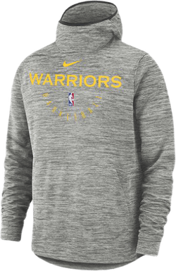 Warriors Spotlght Hoodie Carbon Heather/Amarillo/Black