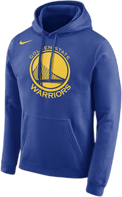 Warriors Hoodie Logo Rush Blue
