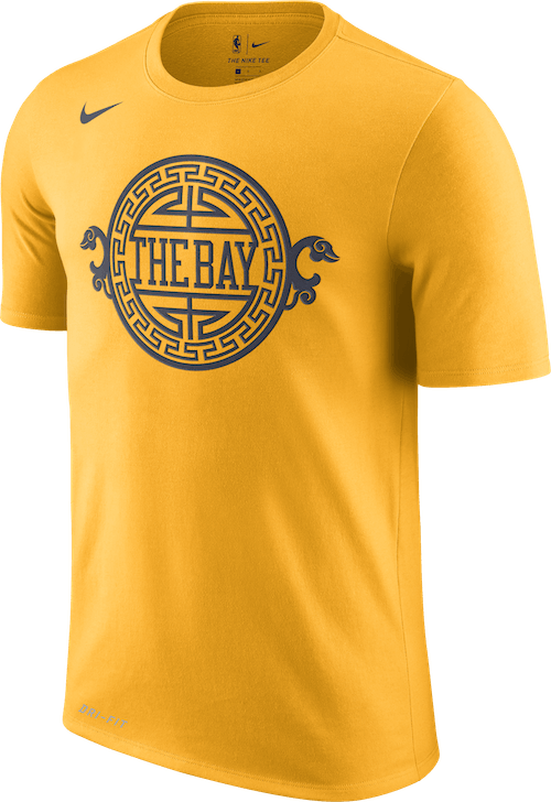 Warriors Dry Tee Ce University Gold