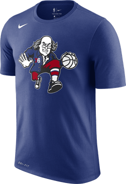 Sixers Dry Tee Es Ce Rush Blue