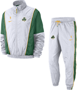 Celtics Tracksuit Courtside White/Clover/University Gold