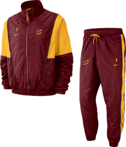 Cavs Tracksuit Courtside Team Red/University Gold/University Gold