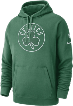 Celtics Hoodie Courtside Clover/White