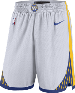 Warriors Swgmn Short Home 18 White/Amarillo/Rush Blue/Rush Blue