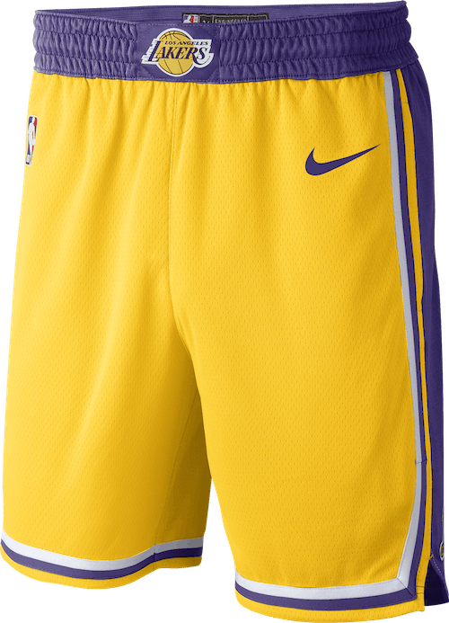 Lakers Icon Swgmn Short Amarillo/Field Purple/White/Field Purple