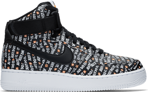 Wmns Air Force 1 Hi Lx Black/Black-White-Total Orange