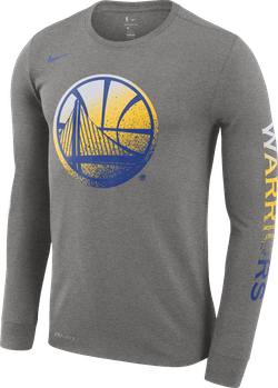 Golden State Warriors Dri-Fit Dk Grey Heather