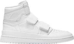 Air Jordan 1 Re Hi Double Strap Summit White/Light Cream-Summit White