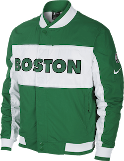 Celtics Jacket Courtside Icon Clover/White/White/White