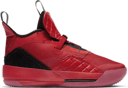Air Jordan Xxxiii (Gs) University Red/University Red-Black-Sail