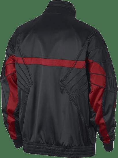 Aj5 Satin Jacket Black/Gym Red/Gym Red
