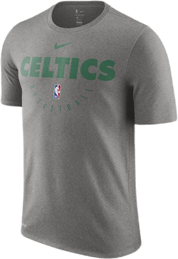 Celtics Dry Tee Es Prtc Dk Grey Heather