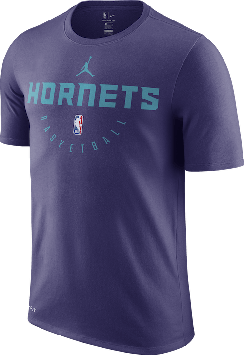 Hornets Dry Tee New Orchid