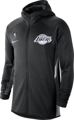Lakers Therma Flex Showtime Black Heather/Cool Grey/White
