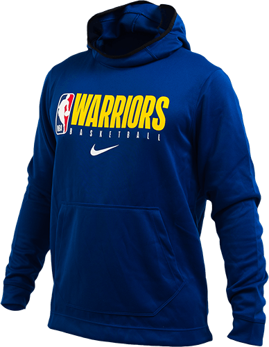 Warriors Spotlight Hoodie Rush Blue/Rush Blue/Black