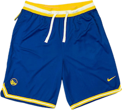 Warriors Shorts Rush Blue/Amarillo/White/Amarillo