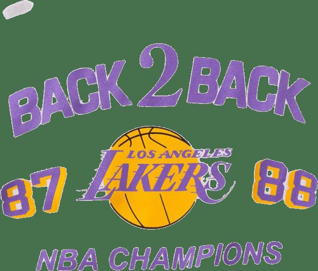 Lakers Back 2 Back Tee