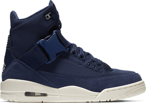 Air Jordan III Retro Explorer Xx Midnight Navy/Light Cream-Light Cream